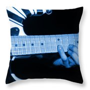 Vh #20 In Blue Throw Pillow