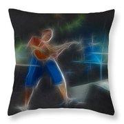 Vh-eddie-balance-gd2-fractal Throw Pillow
