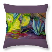 Via Dell Amore Throw Pillow