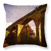 Viaducts Throw Pillow