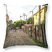 Vias De Caminito Throw Pillow