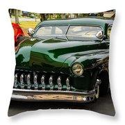 Vibrant Mercury Throw Pillow