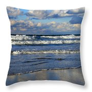 Vibrant November Clouds Throw Pillow