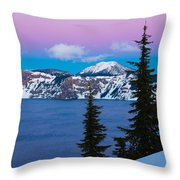 Vibrant Winter Sky Throw Pillow