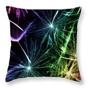 Vibrant Wishes Throw Pillow