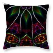 Vibrational Tendencies Throw Pillow