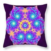 Vibrations Of Khufu Throw Pillow by Derek Gedney