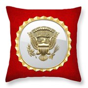 Vice Presidential Service Badge Throw Pillow