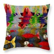 Vice Versa Pop Art Throw Pillow