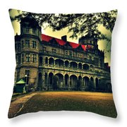Viceregal Lodge Shimla Throw Pillow