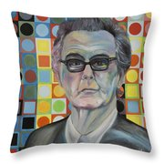 Victor Vasarely Throw Pillow