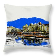 Victoria Art 011 Throw Pillow