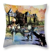 Victoria Art Throw Pillow