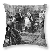 Victoria Eugenie Julia Ena (1887-1969) Throw Pillow