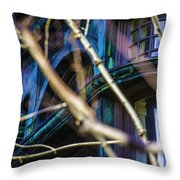 Victorian Abstract Two Throw Pillow