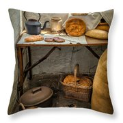 Victorian Bakers Throw Pillow