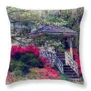 Victorian Garden Throw Pillow