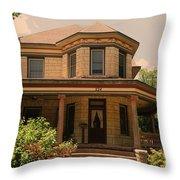 Victorian Home 2 Throw Pillow