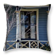 Victorian Home In Napa Valley Throw Pillow