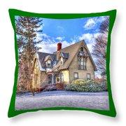 Victorian Homestead Throw Pillow