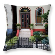 Victorian House Lafayette Sq St Louis Throw Pillow