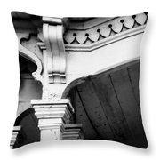 Victorian Moulding Throw Pillow