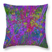 Victorian Noise 3 Throw Pillow