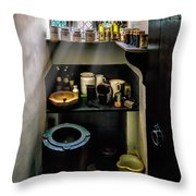 Victorian Pantry Throw Pillow by Adrian Evans
