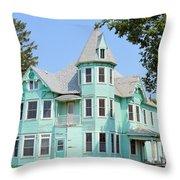 Victorian Renovation 8062 Throw Pillow