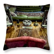 Victorian Times Throw Pillow