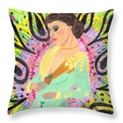 Victorian Acid Throw Pillow
