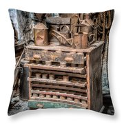 Victorian Workshop Throw Pillow by Adrian Evans