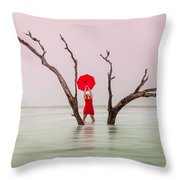 Uncertain Victory Throw Pillow