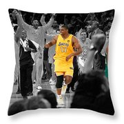 Victory And Defeat Throw Pillow