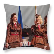 Victory Belles Throw Pillow