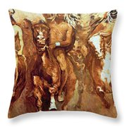 Victory Dance Detail Throw Pillow