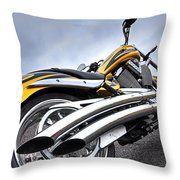 Victory Motorcycle 106 Vertical Throw Pillow