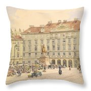 Vienna 1913 Throw Pillow