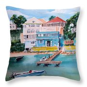Vieques Puerto Rico Throw Pillow