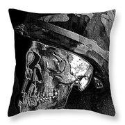 Vietnam - Forgotten War. Throw Pillow by Ian  Ramsay