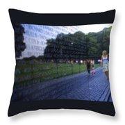 Vietnam War Memorial Throw Pillow