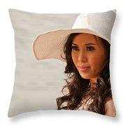 Vietnamese Bride 02 Throw Pillow