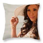Vietnamese Bride 03 Throw Pillow