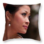 Vietnamese Bride 12 Throw Pillow