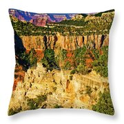 View From Angel Point  Throw Pillow