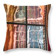 View From Another Window Throw Pillow