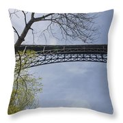 View From Below Throw Pillow