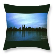 View From Central Park Throw Pillow