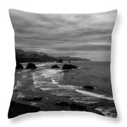 View From Ecola Park Throw Pillow