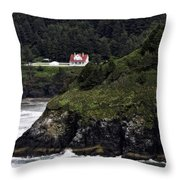 View From Hyway 101  Throw Pillow